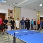 Спартакиада 2015. Настольный теннис