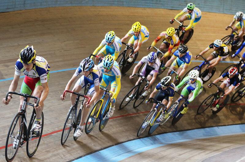 Динамовские велогонщики