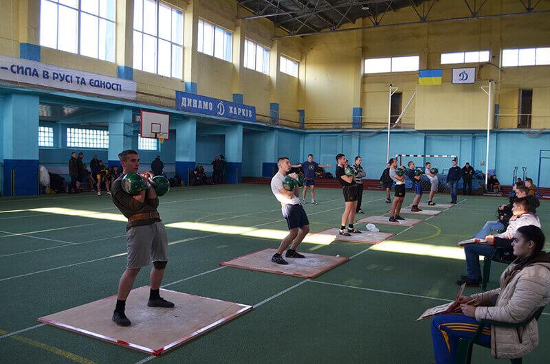 Спартакиада 2016. Гиревой спорт