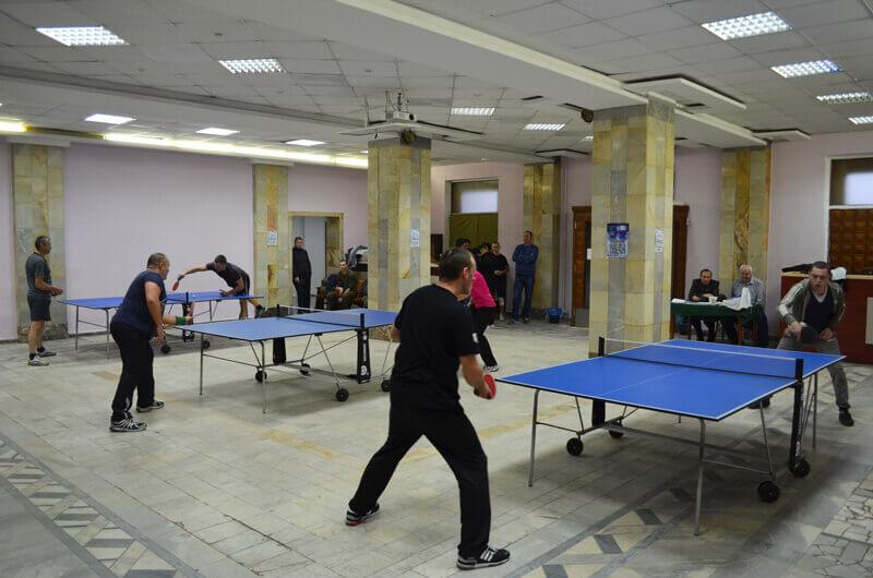 Спартакиада 2016. Настольный теннис