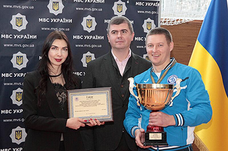Команда ХНУВС – победитель «Кубка Министра внутренних дел по футзалу – 2016»!
