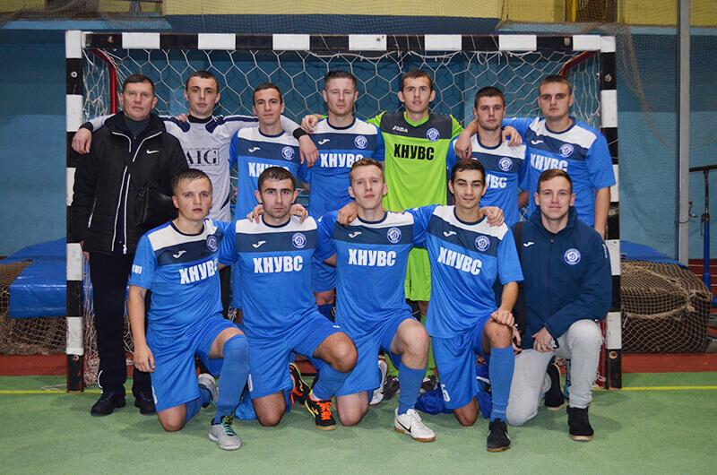 Команда ХНУВД – победитель I этапа Кубка Министра внутренних дел 2016