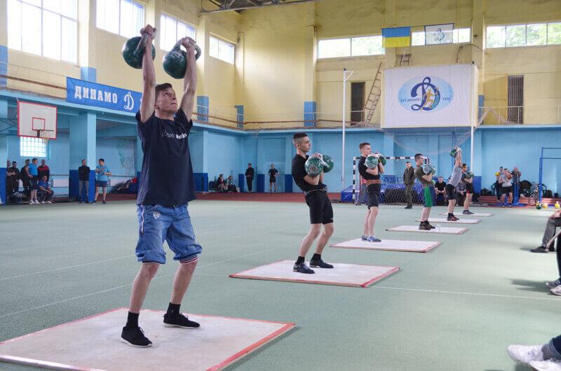 Спартакиада-2017. Гиревой спорт