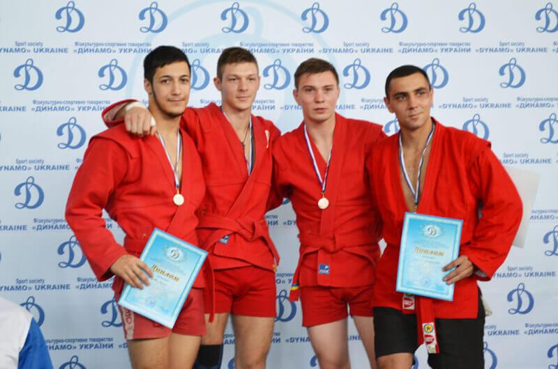 Спартакиада-2017. Борьба самбо