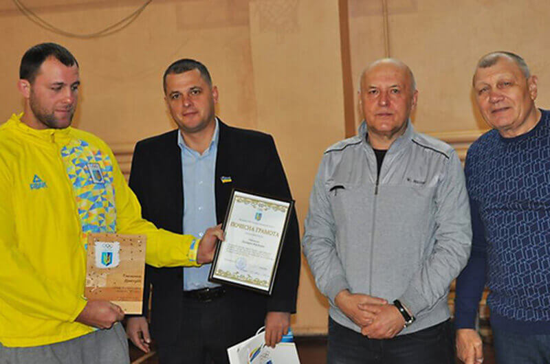 Димитрий Тимченко – лучший спортсмен Харькова в сентябре 2017