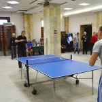 Спартакиада-2017. Настольный теннис