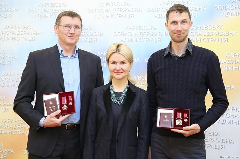 Богдан Бондаренко и его тренер получили государственные награды