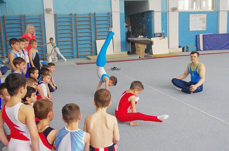 Харьковские динамовцы отметили Международный день спорта