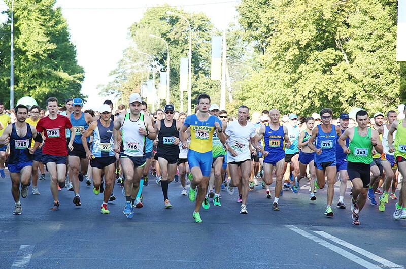 В Харькове прошел 33-й международный марафон