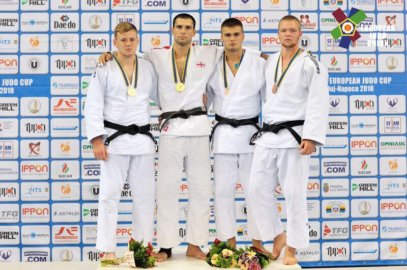 Евгений Вегера и Владислава Нецвит – призеры юниорского Кубка Европы 2018