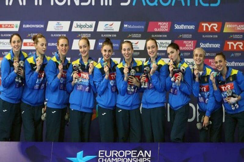 Харьковские синхронистки – чемпионки Европы 2018 года