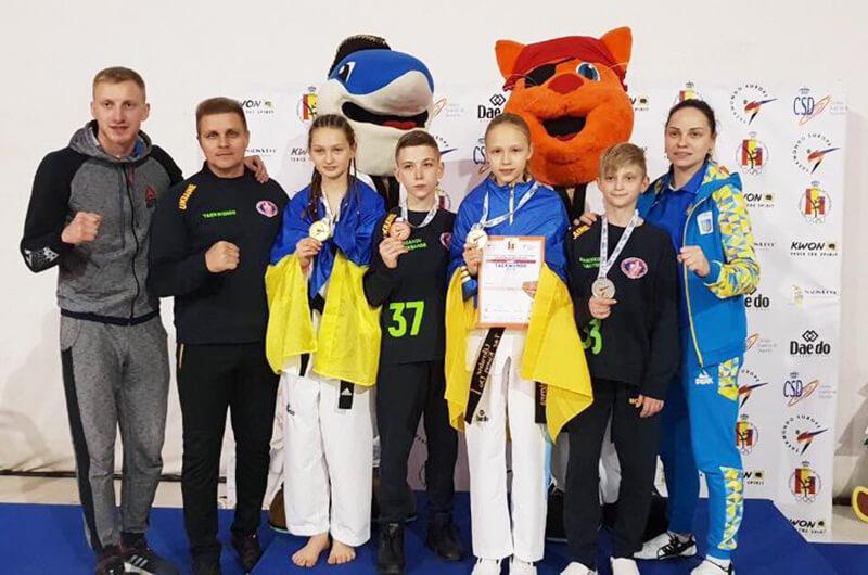 Тхэквондо ВТФ. Дарья Костеневич – победительница кадетского чемпионата Европы 2018
