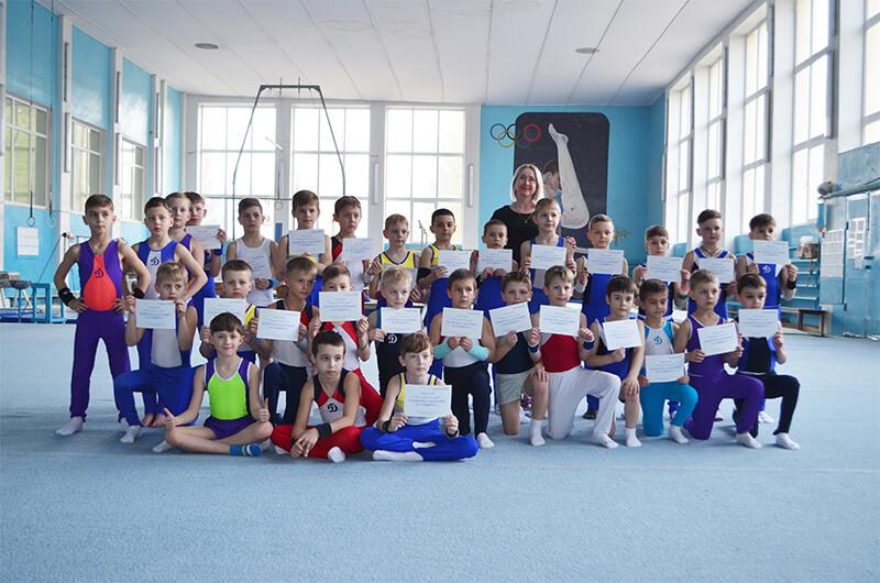 Динамовцы отметили Международный день спорта ради развития и мира