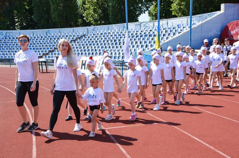 Олимпийский день на Харьковском стадионе «Динамо»