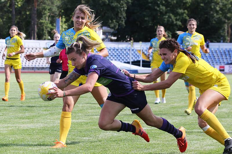 В Харькове завершился женский Гран-При Европы по регби-7