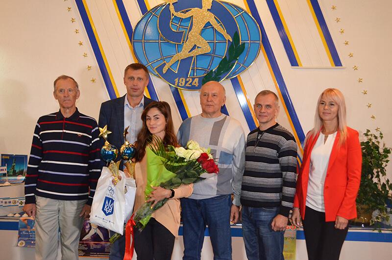 Марина Килипко – лучший спортсмен области в августе 2019 года