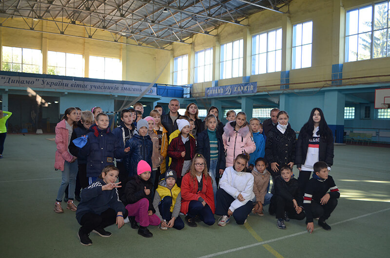 Ученики школы-интерната №14 посетили спорткомплекс «Динамо»
