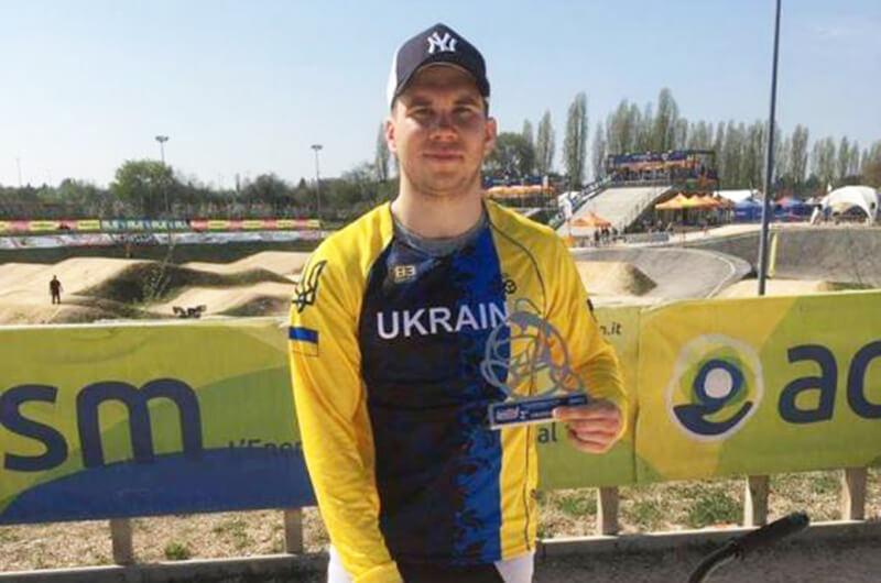 Велоспорт ВМХ. Владислав Сапожников - серебряный призер Кубка Европы 2019