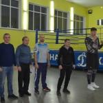Бокс. Александр Димитренко провел мастер-класс с юными динамовцами