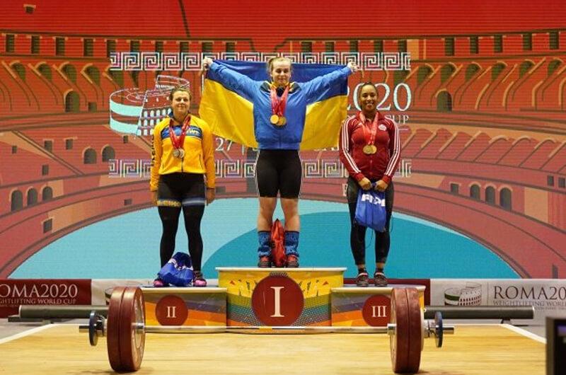 Тяжелая атлетика. Успешное выступление динамовцев на Кубке мира 2020
