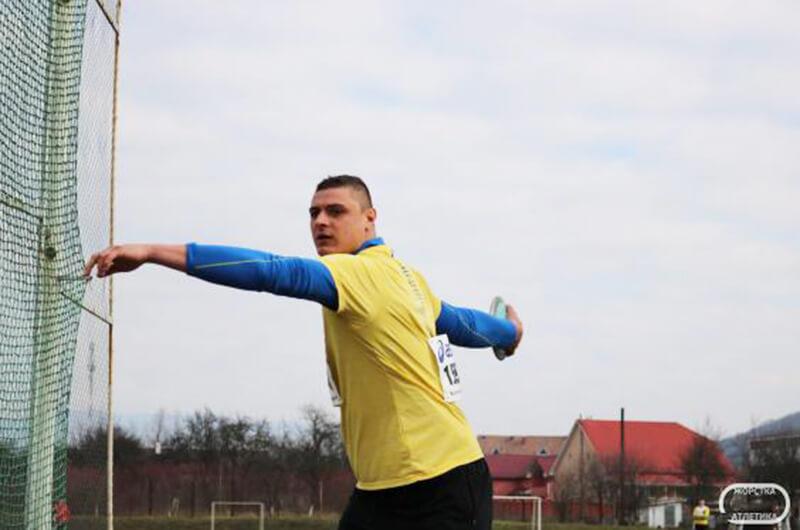 Никита Нестеренко - чемпион Украины по метаниям 2020