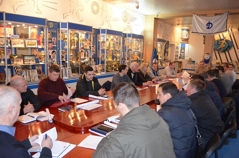 В Харьковском «Динамо» состоялось секретарское совещание