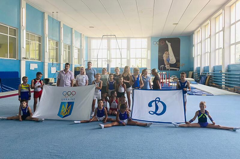 Динамовцы Харьковщины отпраздновали Олимпийский день