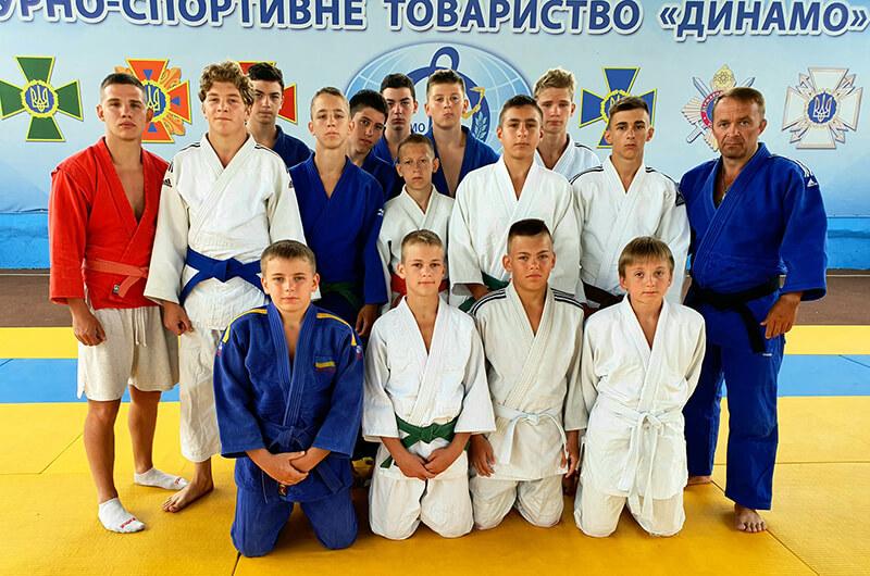 Динамовцы Харькова на УТС в г. Очакове
