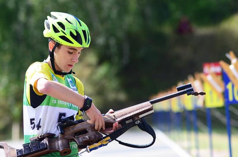 Биатлон (летний). Степан Кинаш - победитель юношеского чемпионата Украины 2020