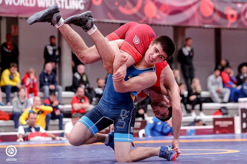 Вольная борьба. Итоги чемпионата Украины 2020 среди мужчин до 23 лет