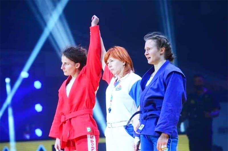 Борьба самбо. Анастасия Шевченко - чемпион мира 2020!
