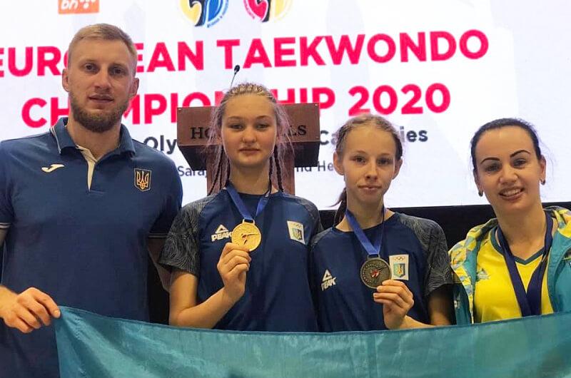 Дарья Костеневич - победительница кадетского чемпионата Европы по тхэквондо WTF 2020