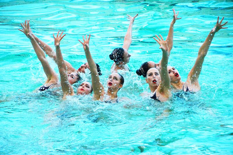 Синхронное плавание. Успехи динамовок на домашнем чемпионате Украины 2021