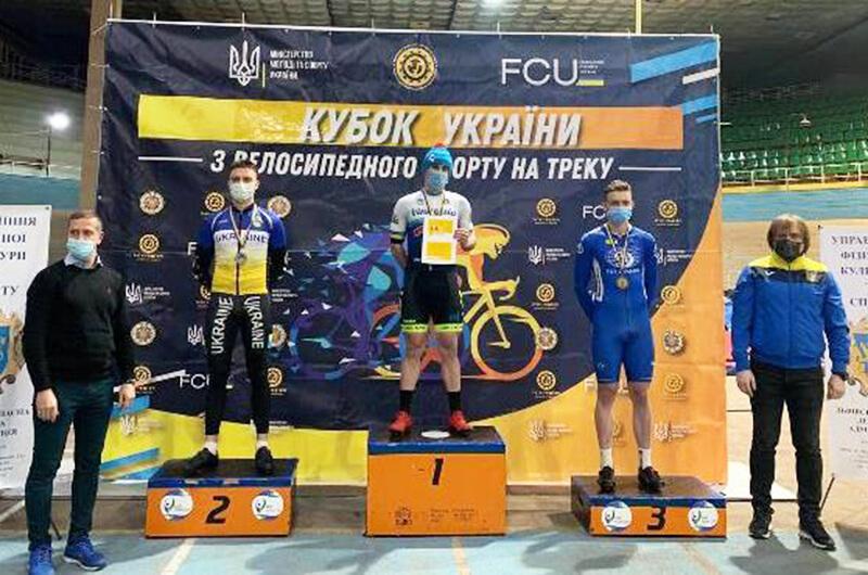 Велоспорт (трек). Успешное выступление динамовцев на Кубке Украины 2021