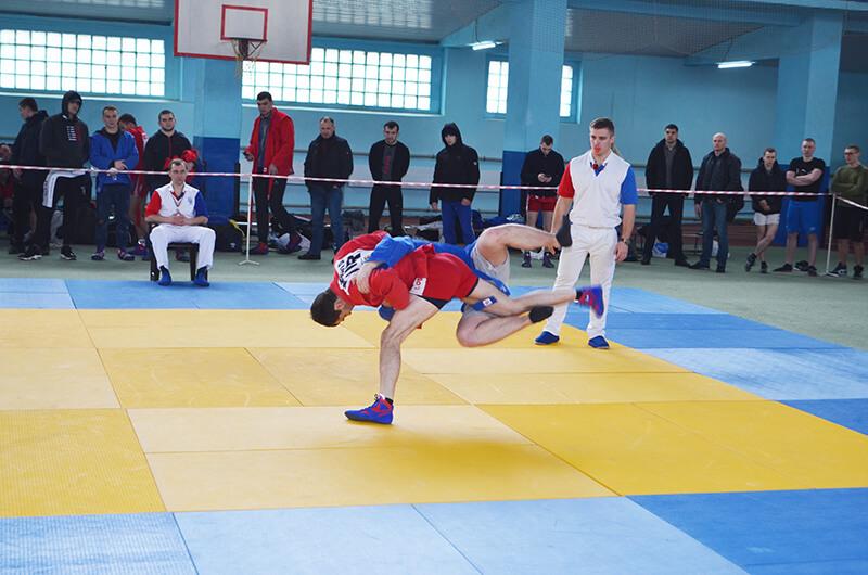 Спартакиада-2021. Борьба самбо