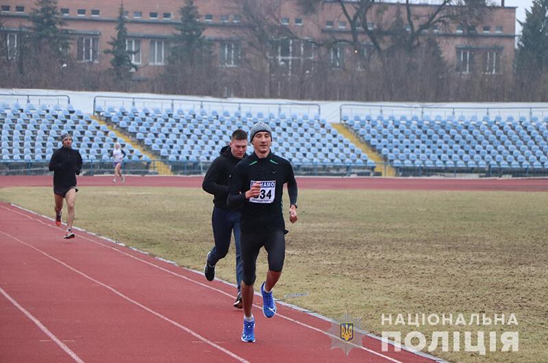 Харьковские полицейские провели соревнования по легкоатлетическому кроссу