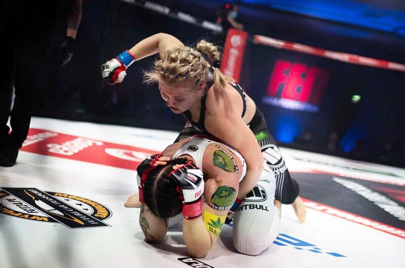 Екатерина Степанова - победительница «Fight Exclusive Night»